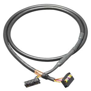 Connecting cable, 16-pin, 1m