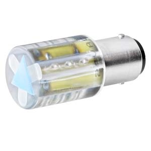 Green LED, 24V AC/DC