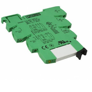Relay with socket, 24V DC, 1CO, 6A