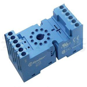 Relay Socket, 3CO, 10A