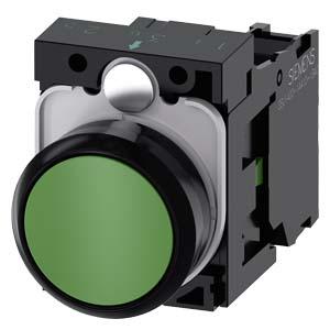 Green, w/ holder, 1NO