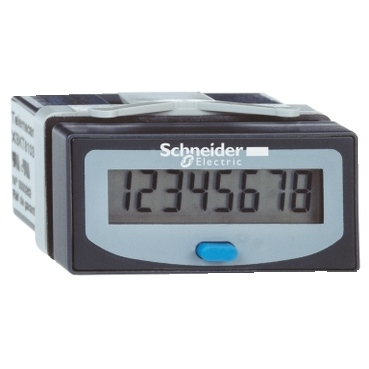 Hour Counter, LCD, <=40VDC