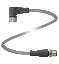 Extension cable 4-pin, M12-M12